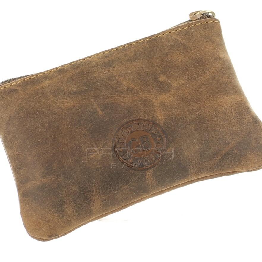 Kožená klíčenka GREEN BURRY 1708-25 hnědá  1cb88f9a3bd