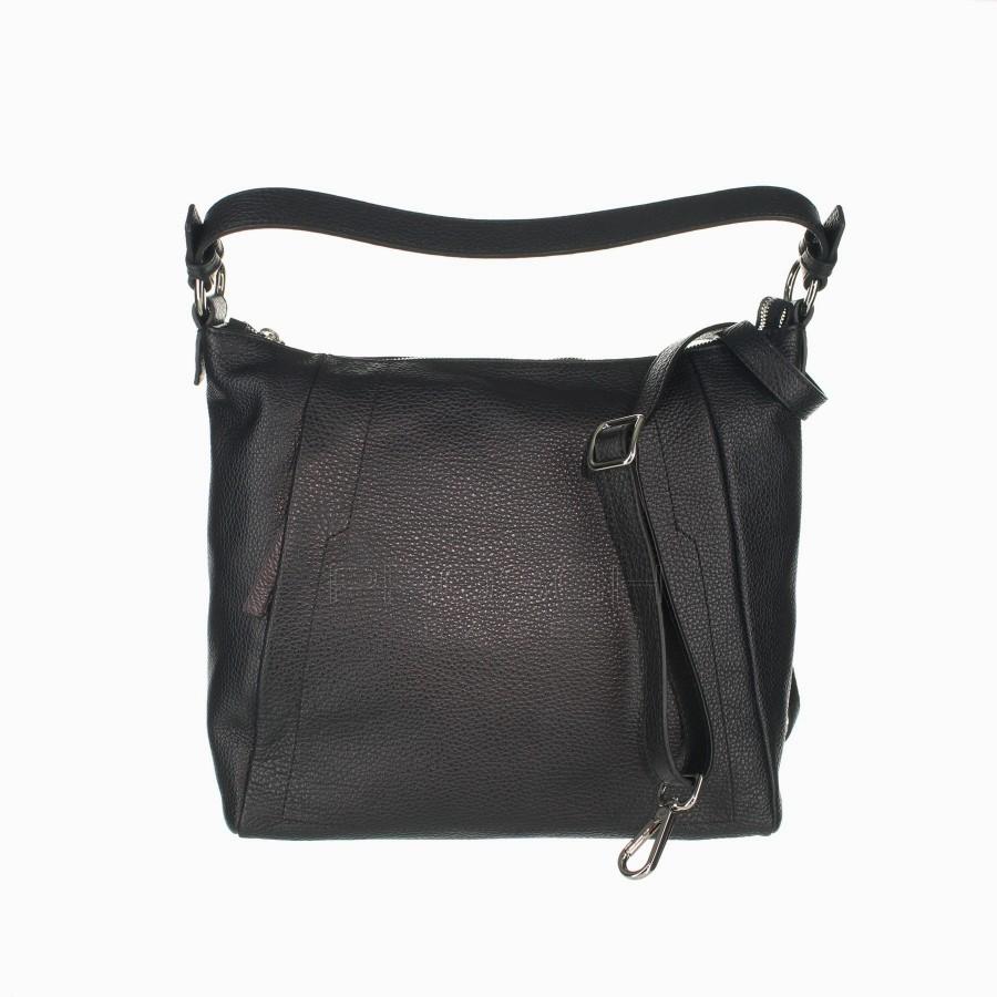 0ccdda0f1a Kožená kabelka AURORA Egeo M černá