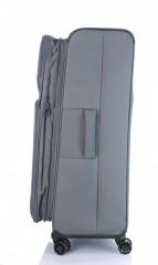 Velký cestovní kufr D&N 7974-13 tmavě šedý č.5