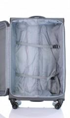 Velký cestovní kufr D&N 7974-13 tmavě šedý č.6