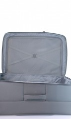 Velký cestovní kufr D&N 7974-13 tmavě šedý č.7