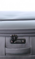 Velký cestovní kufr D&N 7974-13 tmavě šedý č.8