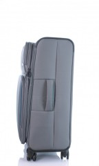 Střední cestovní kufr D&N 7964-13 tmavě šedý č.2
