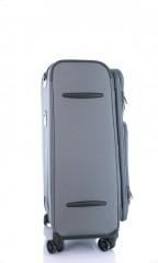 Střední cestovní kufr D&N 7964-13 tmavě šedý č.4