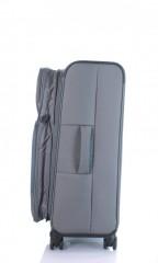 Střední cestovní kufr D&N 7964-13 tmavě šedý č.5