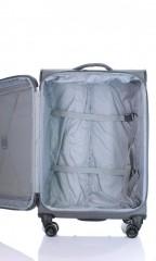 Střední cestovní kufr D&N 7964-13 tmavě šedý č.6