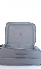 Střední cestovní kufr D&N 7964-13 tmavě šedý č.7