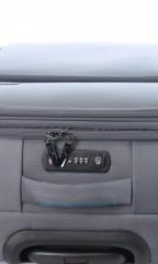 Střední cestovní kufr D&N 7964-13 tmavě šedý č.8