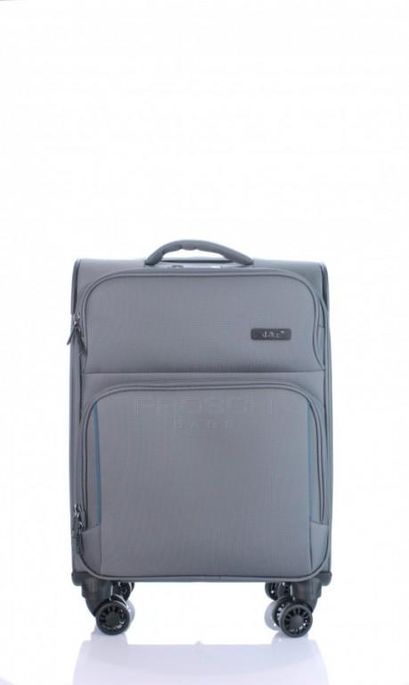 Kabinový cestovní kufr D&N7954-13 tmavě šedý
