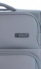 Kabinový cestovní kufr D&N7954-13 tmavě šedý č.8
