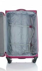 Velký cestovní kufr D&N 7974-04 růžový č.6