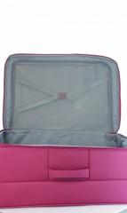 Velký cestovní kufr D&N 7974-04 růžový č.7