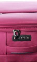 Velký cestovní kufr D&N 7974-04 růžový č.8