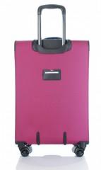 Střední cestovní kufr D&N 7964-04 růžový č.5