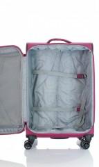 Střední cestovní kufr D&N 7964-04 růžový č.7