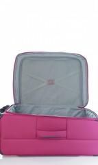 Střední cestovní kufr D&N 7964-04 růžový č.8