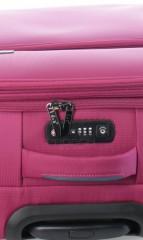 Střední cestovní kufr D&N 7964-04 růžový č.9