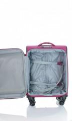 Kabinový cestovní kufr D&N 7954-04 růžový č.6