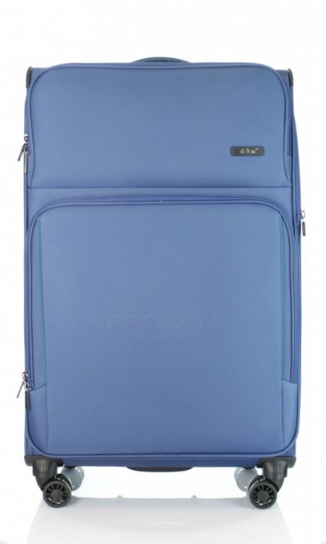 Velký cestovní kufr D&N 7974-06 modrý