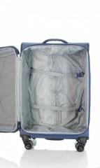 Střední cestovní kufr D&N 7964-06 modrý č.7