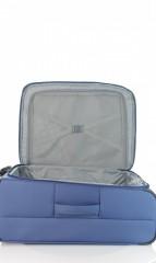 Střední cestovní kufr D&N 7964-06 modrý č.8