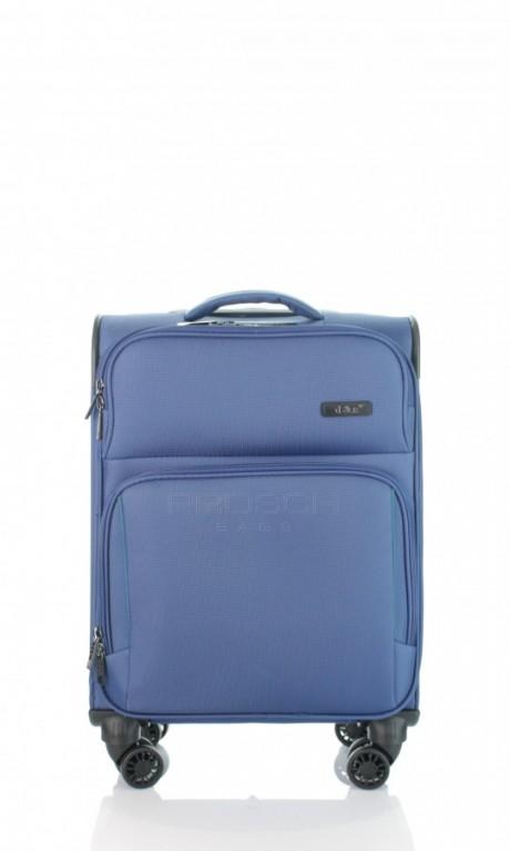 Kabinový cestovní kufr D&N 7954-06 modrý
