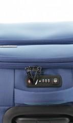Kabinový cestovní kufr D&N 7954-06 modrý č.8