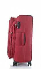 Střední cestovní kufr D&N 6464-12 bordový č.5