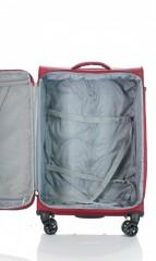 Střední cestovní kufr D&N 6464-12 bordový č.7