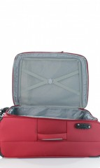 Střední cestovní kufr D&N 6464-12 bordový č.8