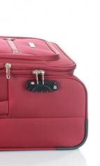 Střední cestovní kufr D&N 6464-12 bordový č.9