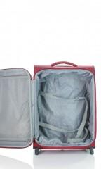 Kabinový cestovní kufr D&N 6454-12 bordový č.6