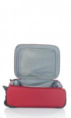 Kabinový cestovní kufr D&N 6454-12 bordový č.7