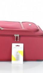 Kabinový cestovní kufr D&N 6454-12 bordový č.8