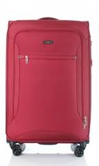 Velký cestovní kufr D&N 6474-12 bordový č.1
