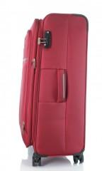 Velký cestovní kufr D&N 6474-12 bordový č.2