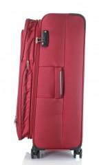 Velký cestovní kufr D&N 6474-12 bordový č.5