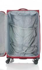 Velký cestovní kufr D&N 6474-12 bordový č.6