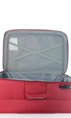 Velký cestovní kufr D&N 6474-12 bordový č.7
