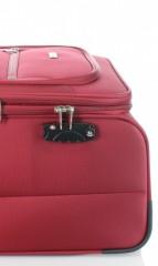 Velký cestovní kufr D&N 6474-12 bordový č.8