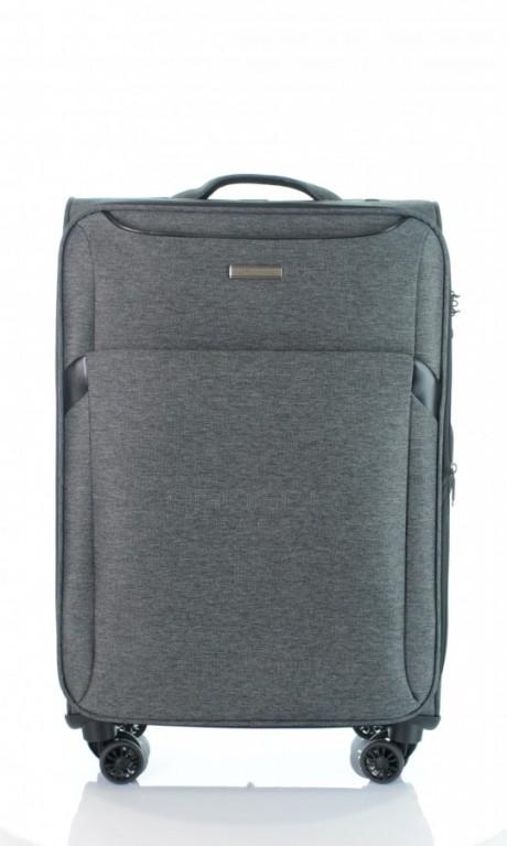 Střední cestovní kufr D&N 7364-01 černý