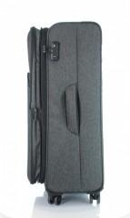 Velký cestovní kufr D&N 7374-01 černý č.5