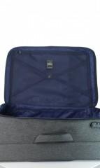 Velký cestovní kufr D&N 7374-01 černý č.7