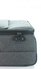Velký cestovní kufr D&N 7374-01 černý č.8