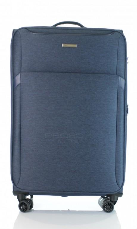 Velký cestovní kufr D&N 7374-06 modrý