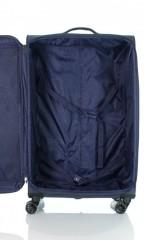 Velký cestovní kufr D&N 7374-06 modrý č.6