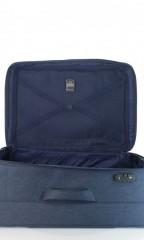 Velký cestovní kufr D&N 7374-06 modrý č.7