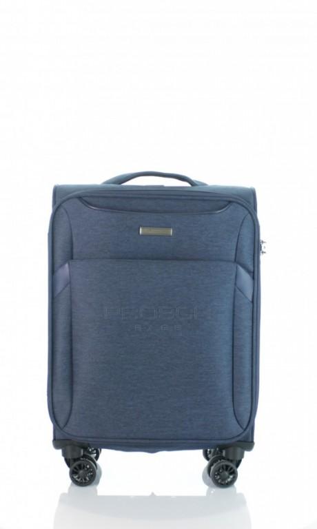 Kabinový cestovní kufr D&N 7354-06 modrý