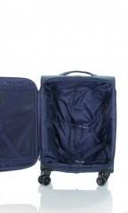 Kabinový cestovní kufr D&N 7354-06 modrý č.6