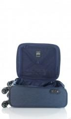 Kabinový cestovní kufr D&N 7354-06 modrý č.7